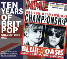 10 Years Of Britpop Collector's Box Unauthorized (CD)