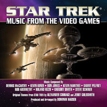 Dominik Hauser - Star Trek: Music From The Video Games (CD)