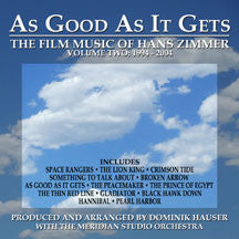 Dominik Hauser - As Good As It Gets: The Film Music Of Han Zimmer Vol. 2 (CD)