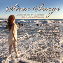 Meridian Studio Ensemble - Siren Songs: Classic Film And TV Themes For Solo Voice And Orchestra (CD)
