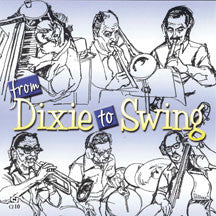 Dick Wellstood - From Dixie To Swing (CD)