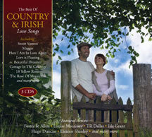Country & Irish Love Songs (CD)