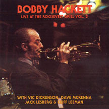 Bobby Hackett - Live At the Roosevelt Grill 2 (CD)