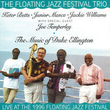 Junior Mance & Floating Jazz Festival Trio - The Music of Duke Ellington (CD)