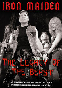 Iron Maiden - Legacy Of The Beast Unauthorized (DVD)