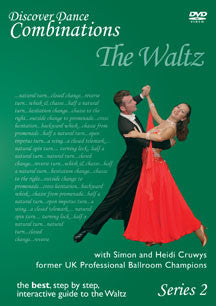 Discover Dance Combinations The Waltz, Series 2 (DVD)