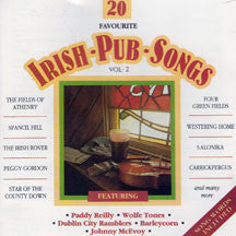 Irish Pub Songs Vol 2 (CD)
