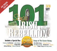 101 Songs Of Irish Rebellion 5 CD Set (CD)