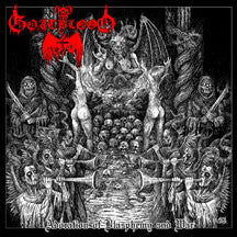 Goatblood - Adoration Of Blasphemy And War (VINYL ALBUM)