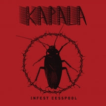 Kapala - Infest Cesspool (CD)