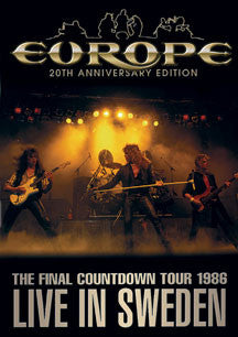 Europe - Final Countdown Tour: Live In Sweden 1986 (DVD)