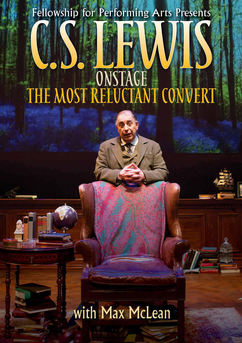 C.S. Lewis On Stage: The Most Reluctant Convert (DVD)