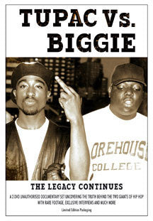 Biggie 2 Pac Vs - Legacy Continues (DVD)