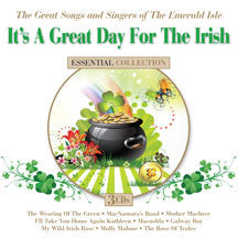 It's A Great Day For The Irish: The Great Songs And Singers Of The Emerald Isle (CD)