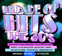 Decade Of Hits: The 30's (CD)