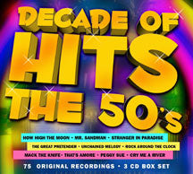 Decade Of Hits: The 50's (CD)