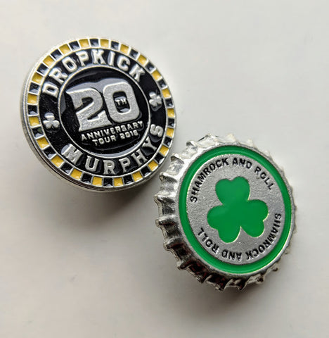 Dropkick Murphys Enamel Pin Set