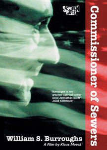 William S. Burroughs - Commissioner Of Sewers (DVD)