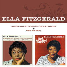 Ella Fitzgerald - Sings Sweet Songs For Swingers + Get Happy! + 2 Bonus Tracks (CD)