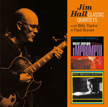 Jim Hall - Classic Quartets - Impromptu + Burnin' (CD)