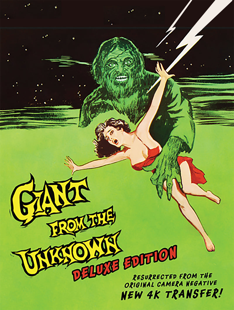 Giant From The Unknown (1958) [New 4k Restored Version] (DVD)