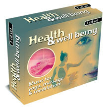 Health & Wellbeing: Yoga, Massage & Meditation 3cd Box Set (CD)