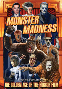 Monster Madness: The Golden Age Of The Horror Film (DVD)