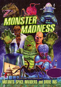 Monster Madness: Mutants, Space Invaders And Drive-ins (DVD)