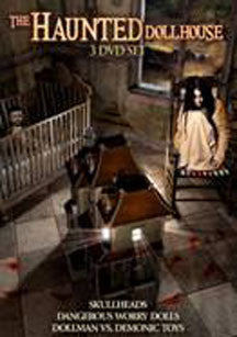 Haunted Dollhouse Collection 3 Disc Set (DVD)