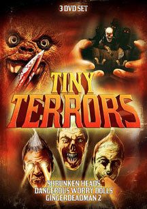 Tiny Terrors 3 Pack Set (DVD)