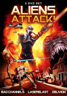 Aliens Attack! 3 Pack Set (DVD)