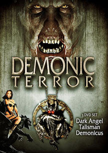 Demonic Terror 3 Pack Set (DVD)