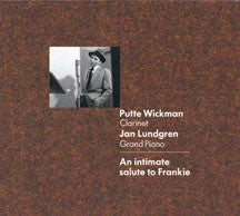 Putte Wickman - An Intimate Salute To Frankie (CD)