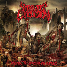 Parasitic Ejaculation - Rationing The Sacred Human Remains (CD)