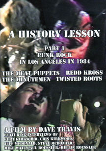 History Lesson Part 1: Punk Rock In Los Angeles In 1984 (DVD)