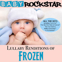 Baby Rockstar - Lullaby Renditions Of Frozen (CD)