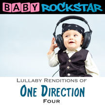 Baby Rockstar - One Direction Four: Lullaby Renditions (CD)