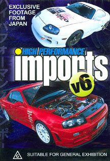 High Performance Imports V6 (DVD)