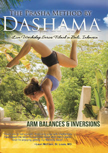 Dashama Konah Gordon - Arm Balances And Inversions (DVD)