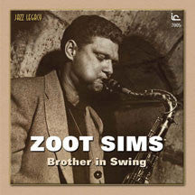 Zoot Sims - Brother In Swing (CD)