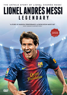 Lionel Andres Messi - Legendary (DVD)