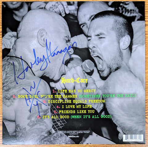 Harley Flanagan - Hard-Core (Dr. Know EP) (SIGNED VINYL ALBUM)