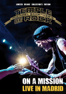 Michael Schenker's Temple Of Rock - On A Mission: Live In Madrid Ltd Deluxe Edition (2cd + 2db) (BLU-RAY)