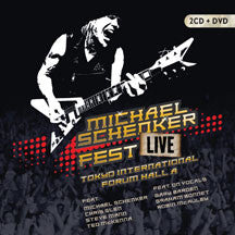Michael Schenker - Fest: Live Tokyo International Forum Hall A (CD/DVD)