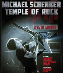 Michael Schenker - Temple Of Rock: Live In Europe (BLU-RAY)