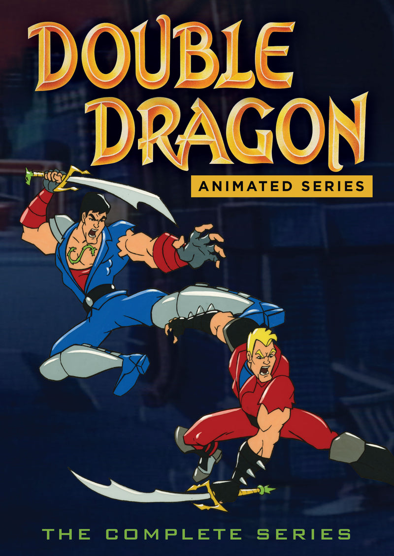 Double Dragon The Animated Series (DVD)