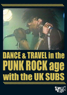 U.K. Subs - Dance & Travel In The Punk Rock Age (DVD)