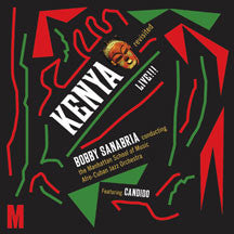 Manhattan School Of Music Afro-cuban Jazz Orchestra, Bobby Sanabria, Conduct - Kenya Revisited Live!!! (CD)