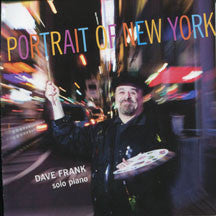Dave Frank - Portrait Of New York (CD)
