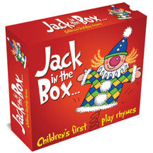 Jack In The Box: Children's First Play Rhymes 3cd Box Set (CD)